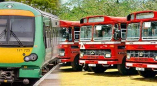 அத்தியாவசிய சேவைகளுக்காக மாத்திரமே மாகாணங்களுக்கு இடையிலான பொது போக்குவரத்து