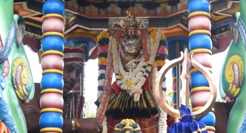 திருக்கோணேஸ்வர ஆலய மாதுமை அம்பாள் தேர் திருவிழா