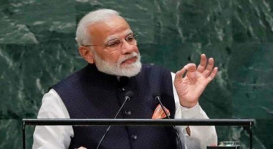 உலகின் முதலாவது DNA COVID தடுப்பு மருந்தை இந்தியா உருவாக்கியுள்ளது: ஐ.நா அமர்வில் மோடி தெரிவிப்பு