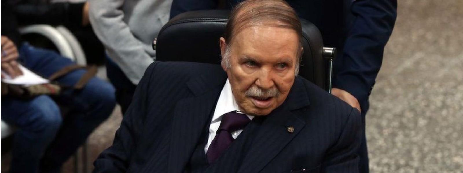 அல்ஜீரியாவின் முன்னாள் ஜனாதிபதி Abdelaziz Bouteflika காலமானார்