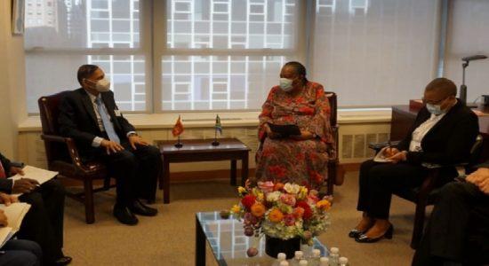 இலங்கை – தென்னாபிரிக்க வெளிவிவகார அமைச்சர்கள் கலந்துரையாடல்