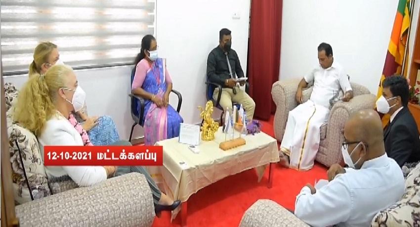 கனேடிய உயர்ஸ்தானிகரும் நோர்வே, நெதர்லாந்தின் தூதுவர்களும் வடக்கு, கிழக்கிற்கு விஜயம்