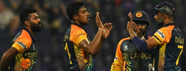 T20 உலக கிண்ண கிரிக்கெட் தொடரை வெற்றியுடன் ஆரம்பித்தது இலங்கை
