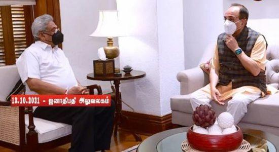 ஜனாதிபதி கோட்டாபய ராஜபக்ஸ – சுப்ரமணியன் சுவாமி இடையில் சந்திப்பு