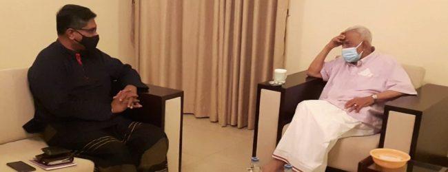 வட மாகாண ஆளுநர் – இரா. சம்பந்தன் சந்திப்பு
