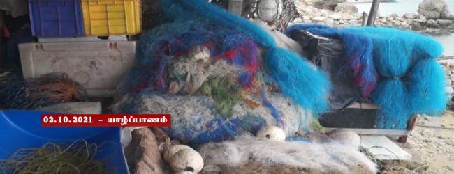 இந்திய மீனவர்களின் இழுவைப் படகுகளால் பலாலி மீனவர்களின் வலைகள் சேதம்