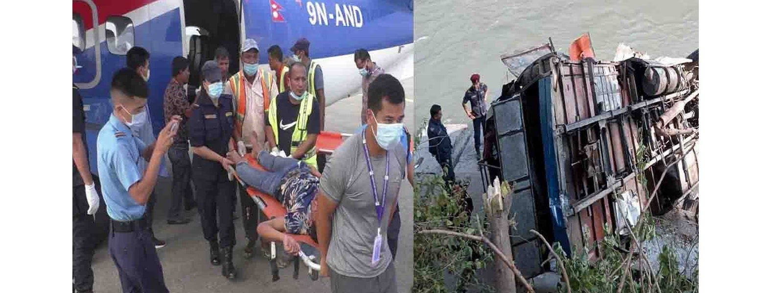 நேபாளத்தில் பஸ் கவிழ்ந்து விபத்து: 32 பேர் பலி